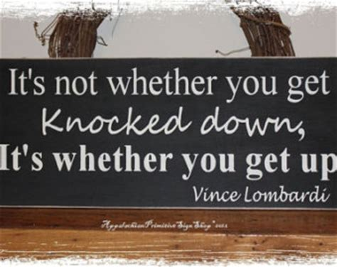 Is Popularity A Bad Thing For Coach by Sports Decor Inspirational Qoute Vince Lombardi Quote