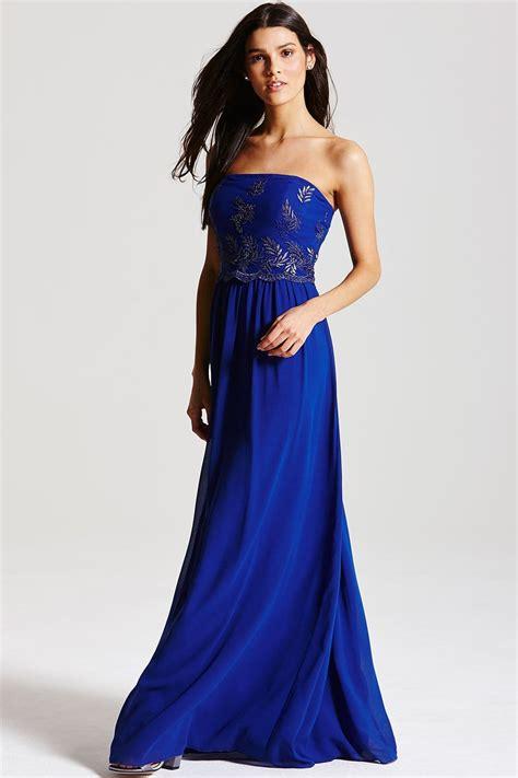 Blue Army Maxi Dress maxi dress cobalt blue dress on sale