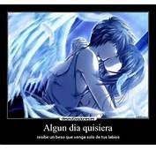 Carteles Y Desmotivaciones De Amor Anime Angel Beso Kawaii