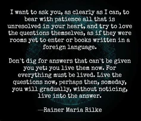 rainer maria rilke quote rilke quote inspiration pinterest