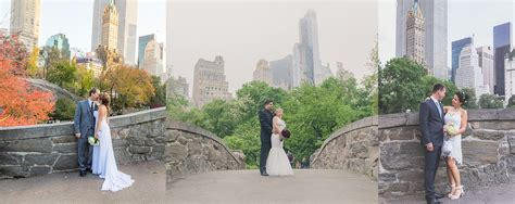 Wedding Ceremony New York by Gapstow Bridge Central Park Wedding Ceremony Location