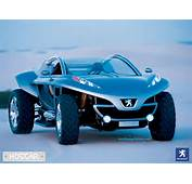 Peugeot Concept Car With Two Turbo Motors HDI 4WD