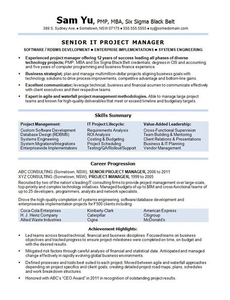 agile project manager resumes okl mindsprout co