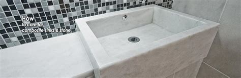 Composite Granite Sink Care by Consumer Care How To Clean Composite Sinks