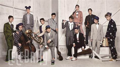 film terbaru member exo exo for the celebrity magazine another sk telecom cf