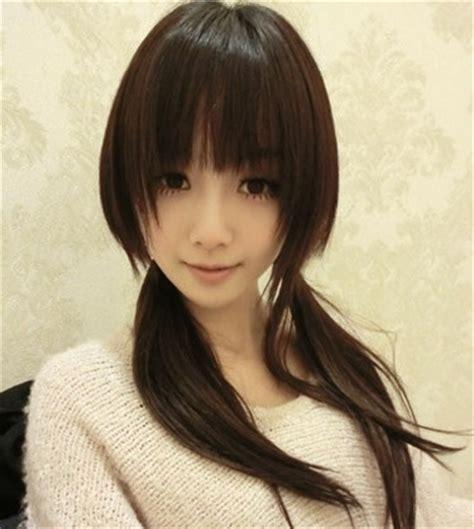Sho Kuda Untuk Rambut model rambut cewek korea populer pusat berita remaja
