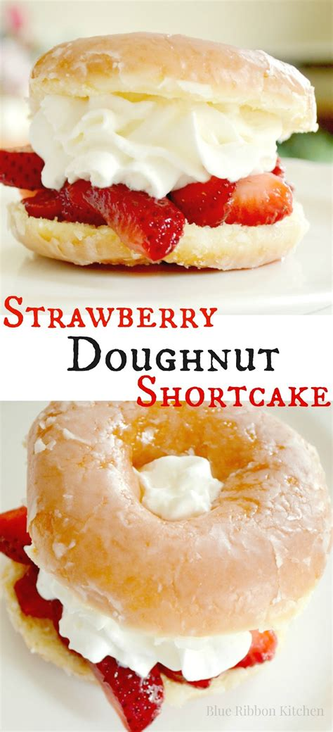 donut cookbook 55 great easy and popular sweetened donut recipes to fry or bake at home healthy food books blue ribbon kitchen strawberry doughnut shortcake