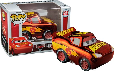 Funko Pop Disney Cars 3 Lightning Mcqueen cars 3 chrome lightning mcqueen funko pop vinyl figure