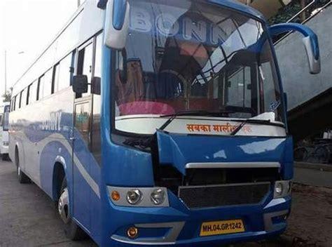 seater bus luxury bus vehicle  rent  mumbai  borivali east mumbai mallhar travels