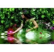 Hada De Las Flores En El Lago La Esperanza  Im&225genes Fant&225sticas