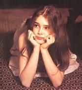 Seduced by a real life Lolita... Brooke Shields — I LOVE.