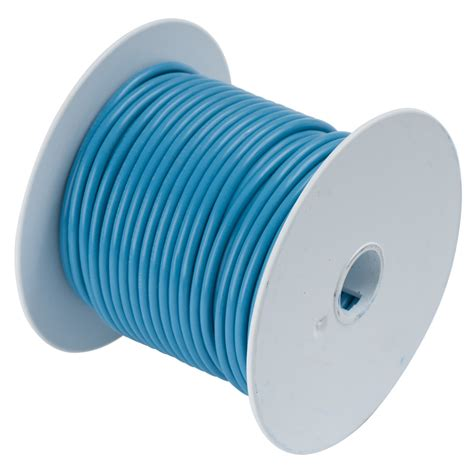 ancor light blue 14awg tinned copper wire 100