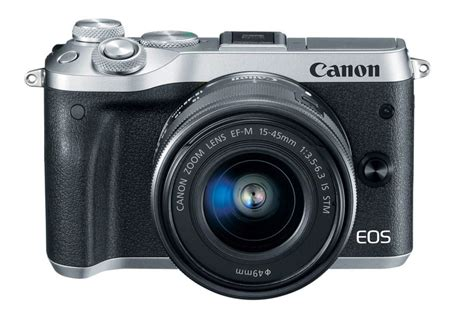 new canon the new canon mirrorless eos m6
