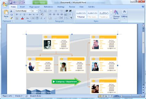 How To Make Org Chart In Powerpoint Create Organization How To Make An Org Chart In Powerpoint