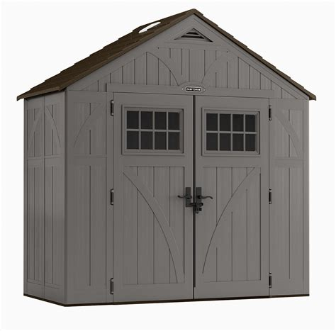Sears Tool Shed by Craftsman Cbms8402 8 4 5 Quot X 4 Resin Storage Building