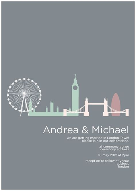 city themed wedding invitations 67 best images about invitation on