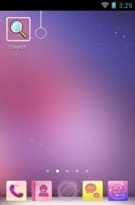 violet themes for android purple sky android theme for 360launcher androidlooks com