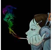 Funny Cartoon Characters Smoking Weed