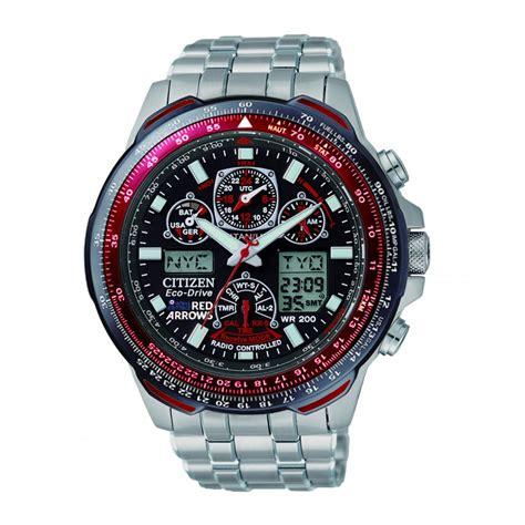 Mens Citizen Red Arrows Sky Hawk Watch   JY0110 55E   Market Cross Jewellers