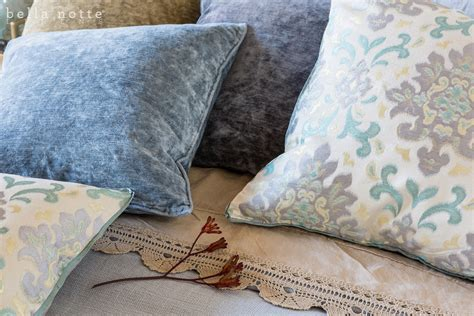 Notte Pillows by Notte Isla Medallion Jacquard Pillows And Fabric J
