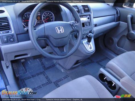 how make cars 2008 honda cr v interior lighting gray interior 2008 honda cr v lx photo 12 dealerrevs com
