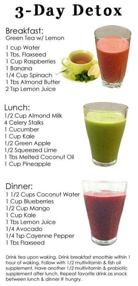 What To Eat After A Smoothie Detox detox smoothie p