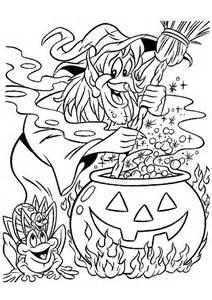 Coloriage Halloween Marmite Sorciere Sur Hugolescargot Com