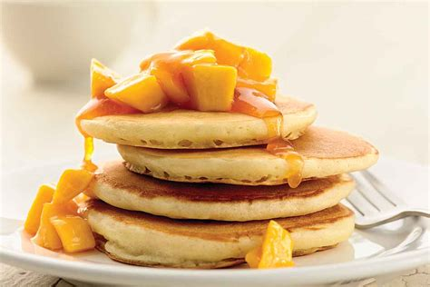 pancake flour self rising light and fluffy pancakes recipe king arthur