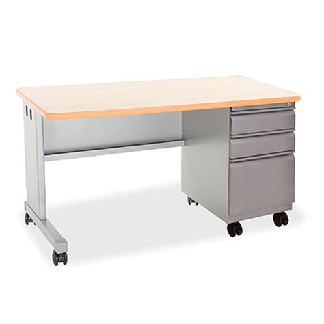 smith system desk cascade teacher desk single pedestal smith system