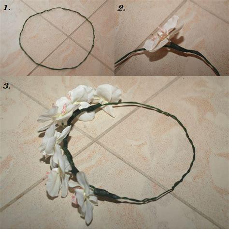 primped and primed series diy floral crown
