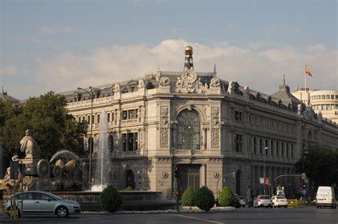 banco de españa historia arte la arquitectura siglo xix