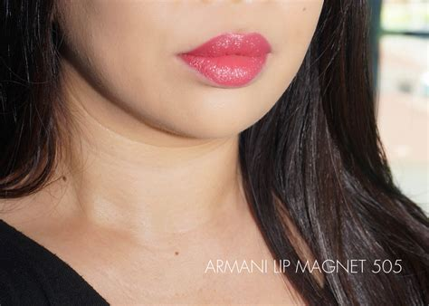 Giorgio Armani Lip Magnet 490rb armani lip magnet review and swatches part ii the