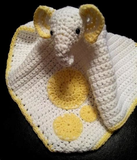 Comfort Blankie by Adorable Crocheted Elephant Projects
