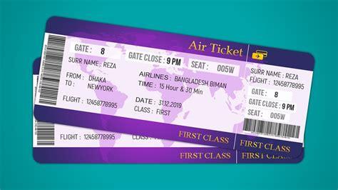 best air ticket air ticket design how to design plane ticket photoshop
