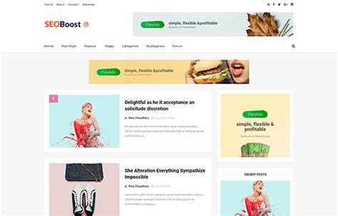 Seo Boost Blogger Template Documenation Themexpose Seo Template 2017