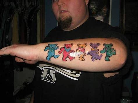 dancing bear tattoo designs teddy tattoos page 2