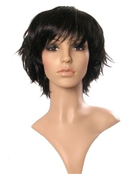 short layered spiky wigs for black women short black wig cute short black wigs choppy style buy