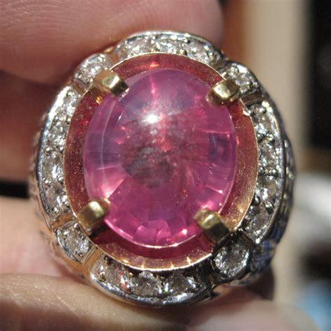 Batu Permata Blue Sapphire Cutting Africa Size 19 8 Carat batu pink sapphire corundum gemstone