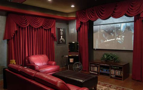 home theater curtains home theater