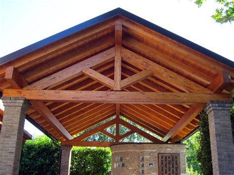 struttura gazebo in legno tettoia in legno per cer