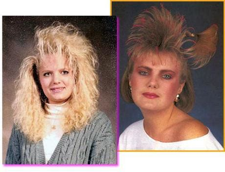 frosted hair from the 80s extreme 80 s haircuts funny pictures of crazy hair