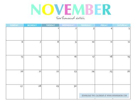 printable calendar november 2015 january 2016 free printable your lovely 2016 calendars