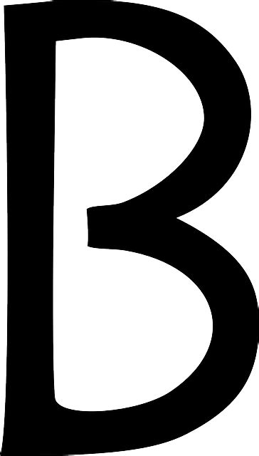 Letter B Type · Free vector graphic on Pixabay