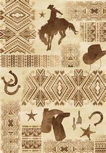 country western area rugs western cowboy rug collection