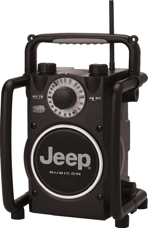 rugged fm radio jeep merchandise jxrr jeep 174 rubicon rugged am fm radio quadratec