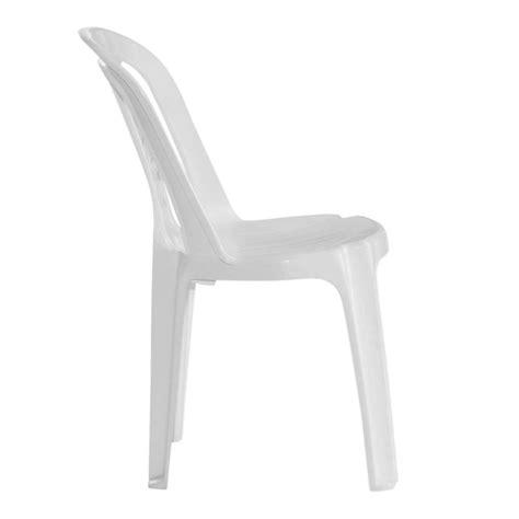silla de plastico blanca bistro  garden life