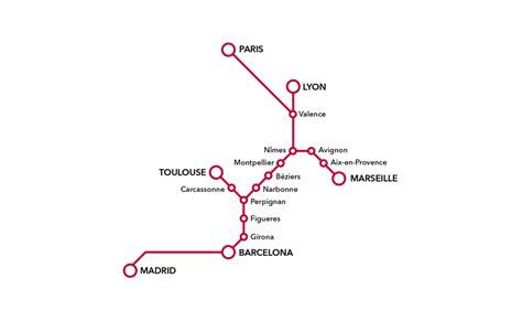 barcelona to paris train travel to barcelona by train