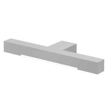 verlichting badkamer gamma bruynzeel spiegelverlichting 6x30x10 cm aluminium