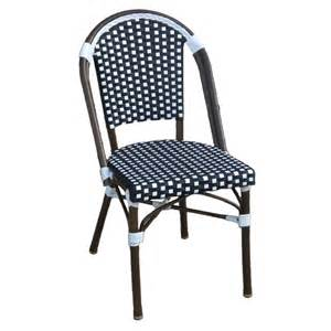 Wicker Bistro Chairs Table In A Bag Cbc Caf 233 Bistro All Weather Wicker Stackable Chair Atg Stores