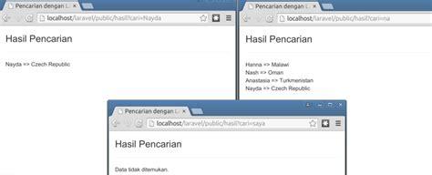 script untuk membuat web sederhana membuat website sederhana dengan laravel membuat pencarian